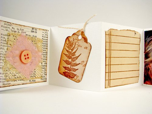 Vintage Valentine Mini Journal