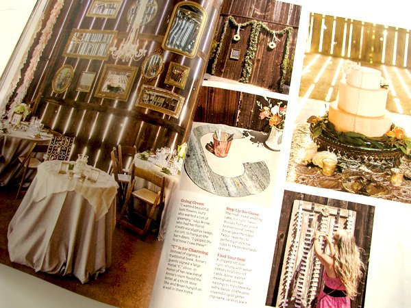 Flea Market Wedding Magazine Inside 1