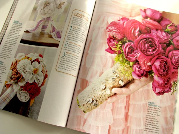 Flea Market Wedding Magazine Inside 3