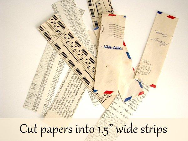 Wedding Favor Vintage Paper 3
