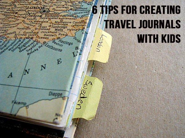 Travel Journal Children