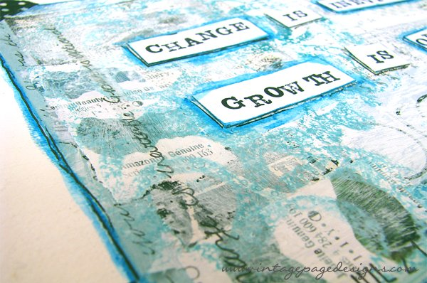 art journal page growth is optional