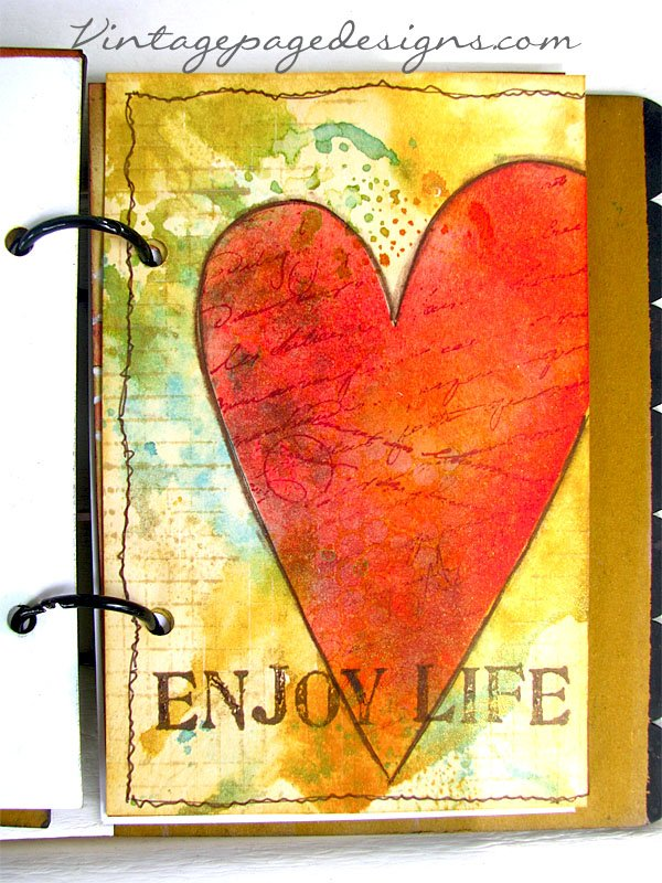 Wendy Vecchi Art Journal Class
