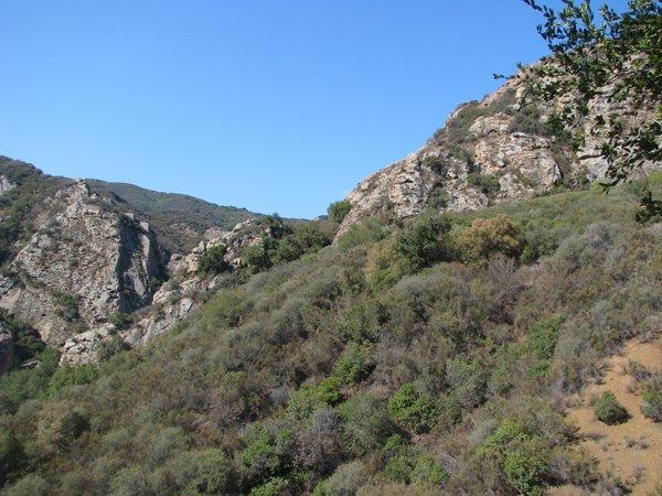 Malibu Canyon Creek California