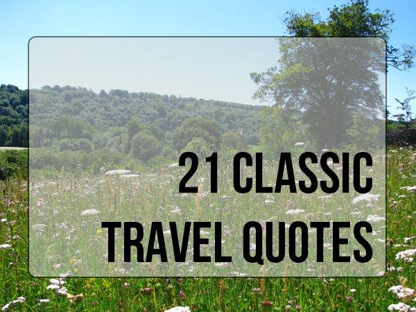 classic travel quotes