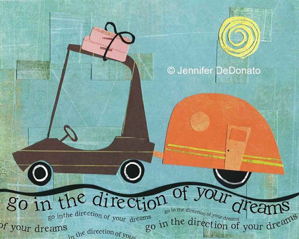 Go In The Direction of Your Dreams by Jenn DeDonato