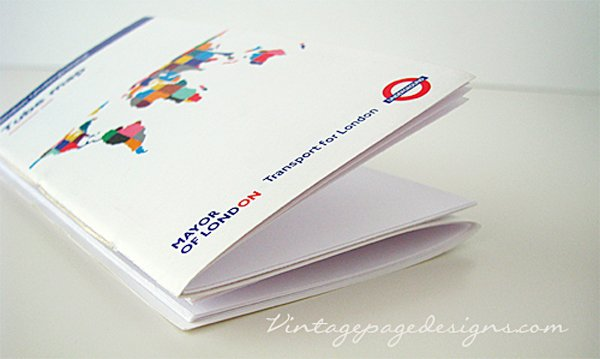 London Underground Map Book 1