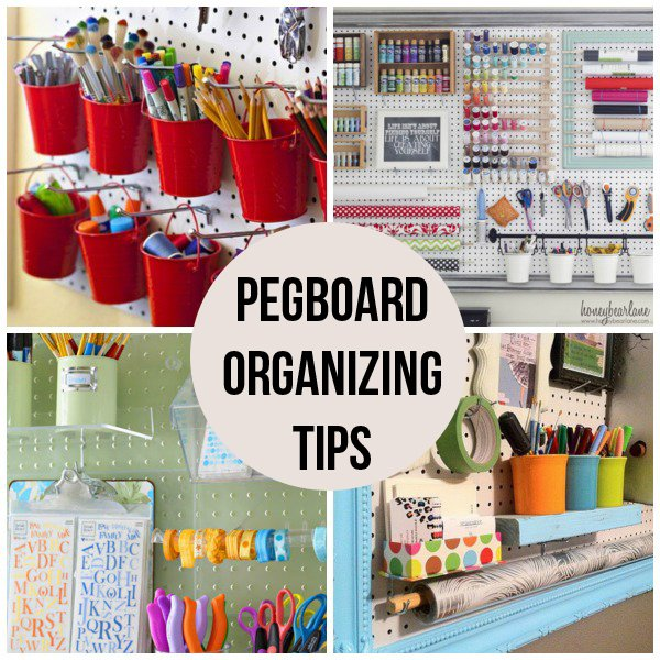 Pegboard Organizing Tips