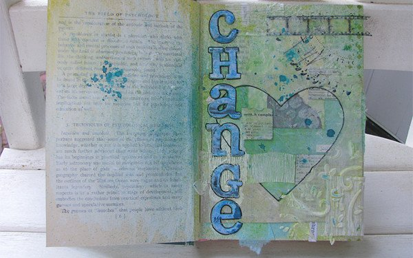 Change Art Journal Page 2