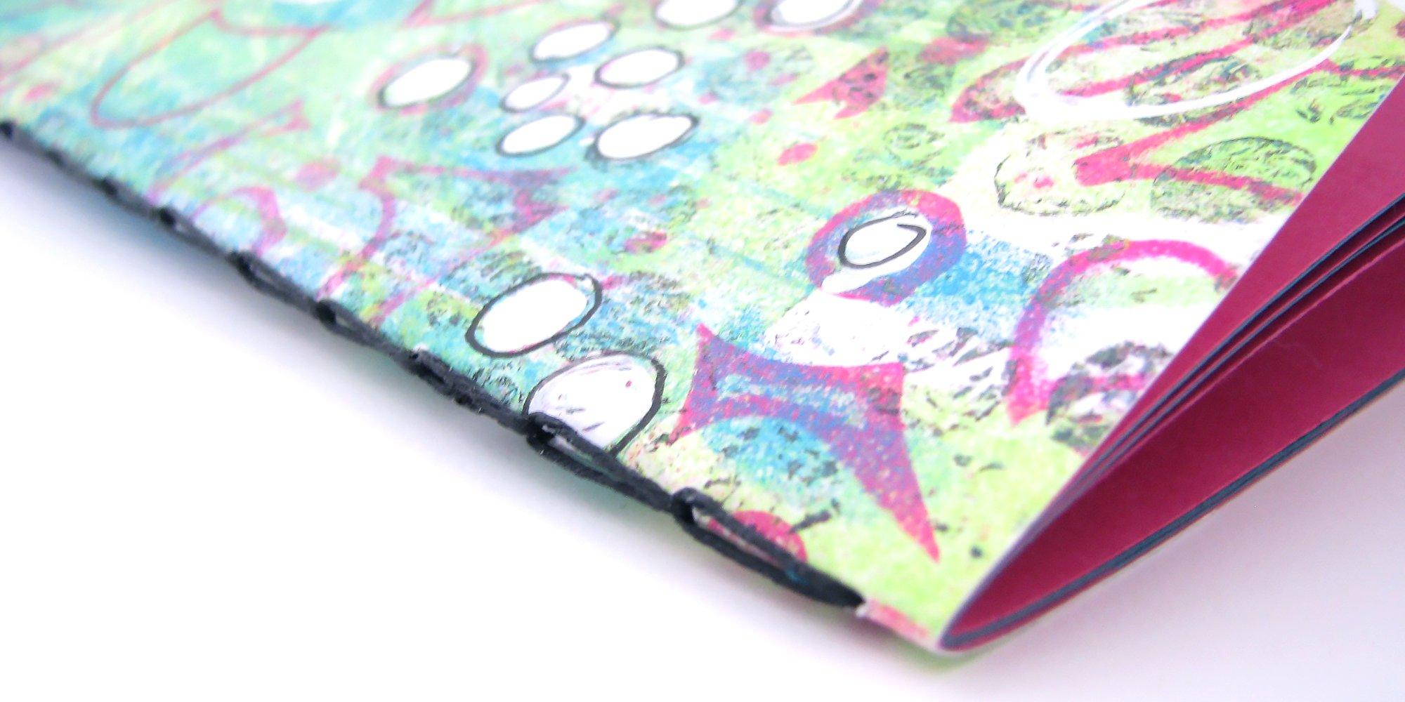 Chain Stitch notebook