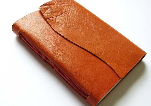 Orange Leather Journal