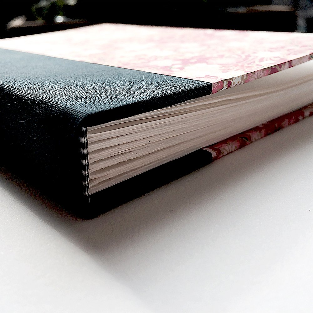 Types Of Book Cover Material : Flat back case bound books