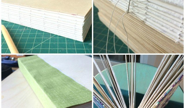 Sewn Boards Sketchbook