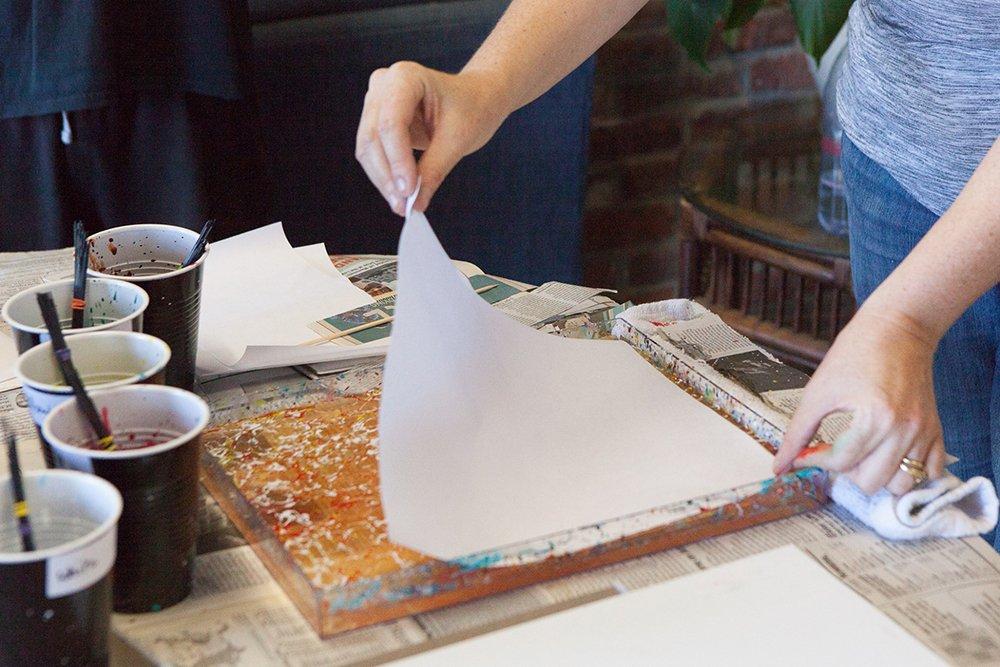 Paper Marbling Class