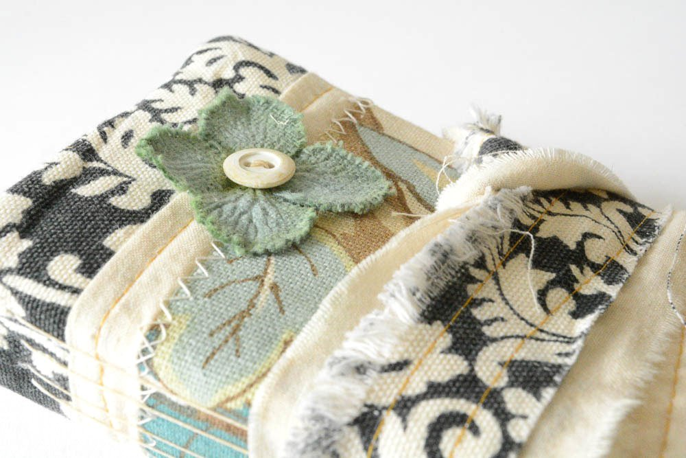 Recycled Fabric Book