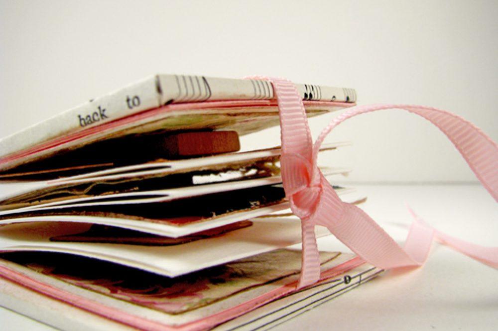 Vintage Valentine Mini Journal 1