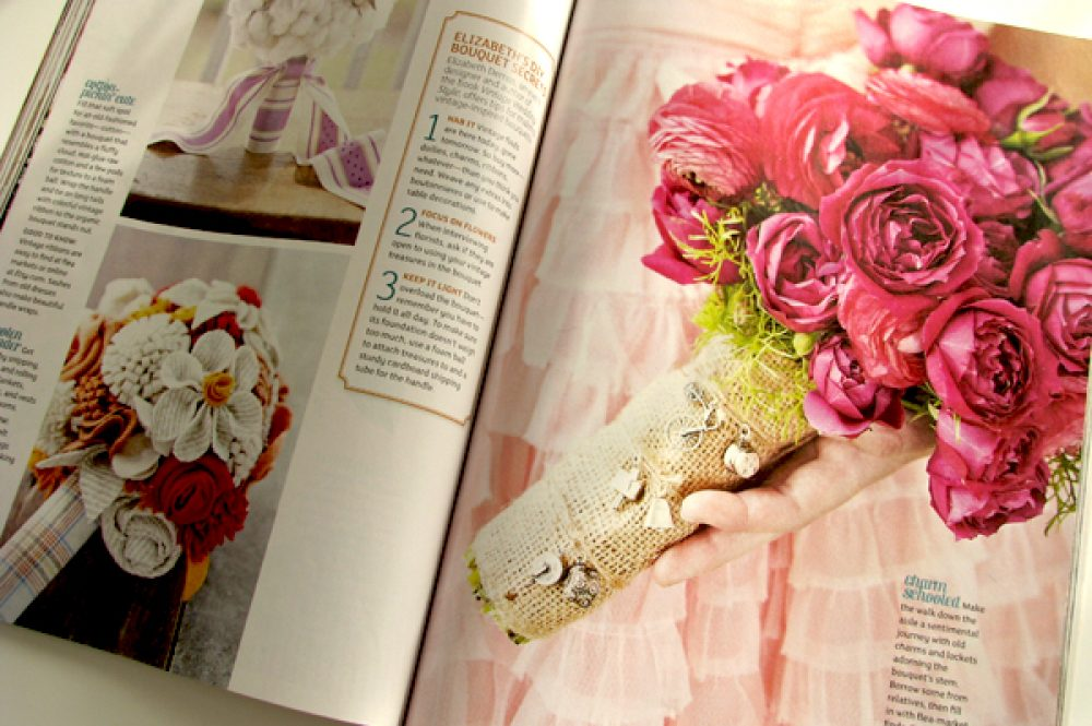 Flea Market Wedding Magazine Inside 3