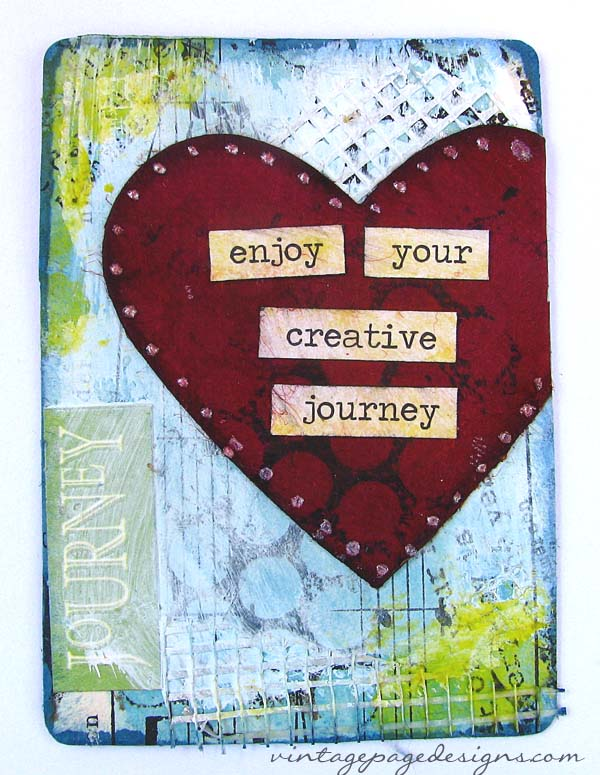 splitcoaststampers mixed media challenge