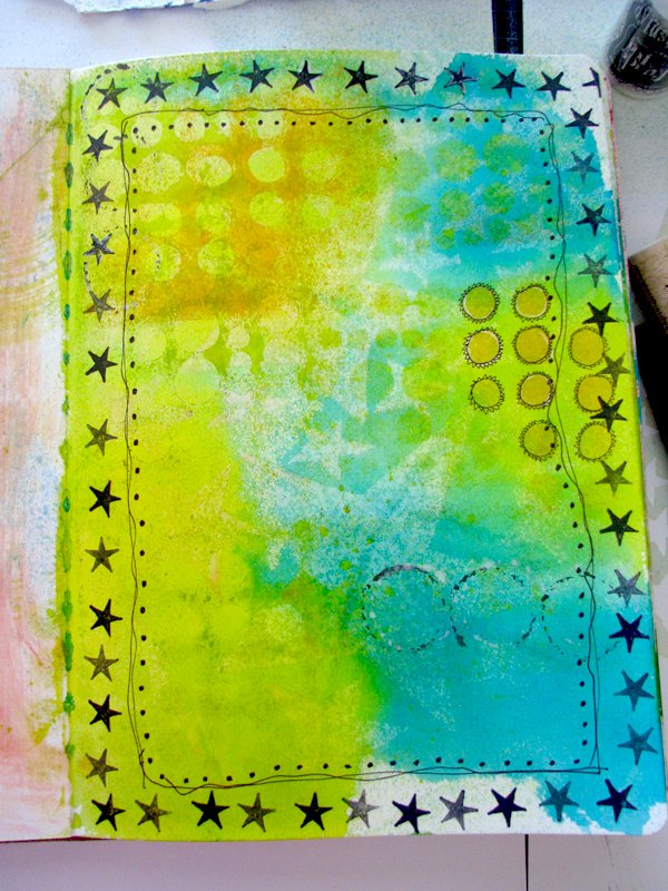 Dyan Reaveley art journal class