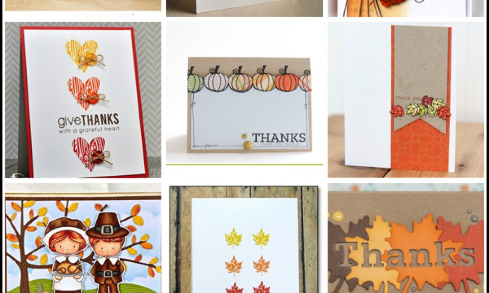 Handmade Thanksgiving Card Collection