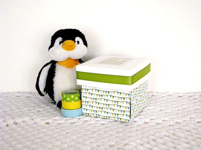 Baby Scrapbook Box