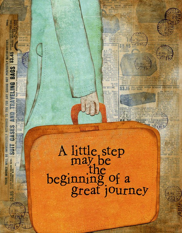 Begin a Great Journey by Jenn DeDonato