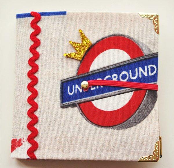 Mini London Travel Journal