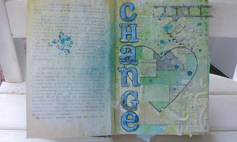 Change Art Journal Page
