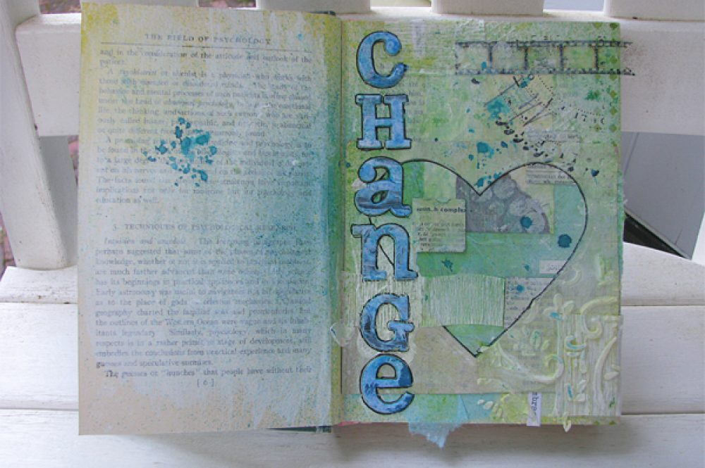 Change Art Journal Page