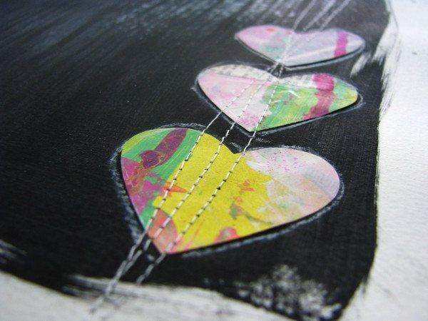 Joyful Heart Art Journal Page 3