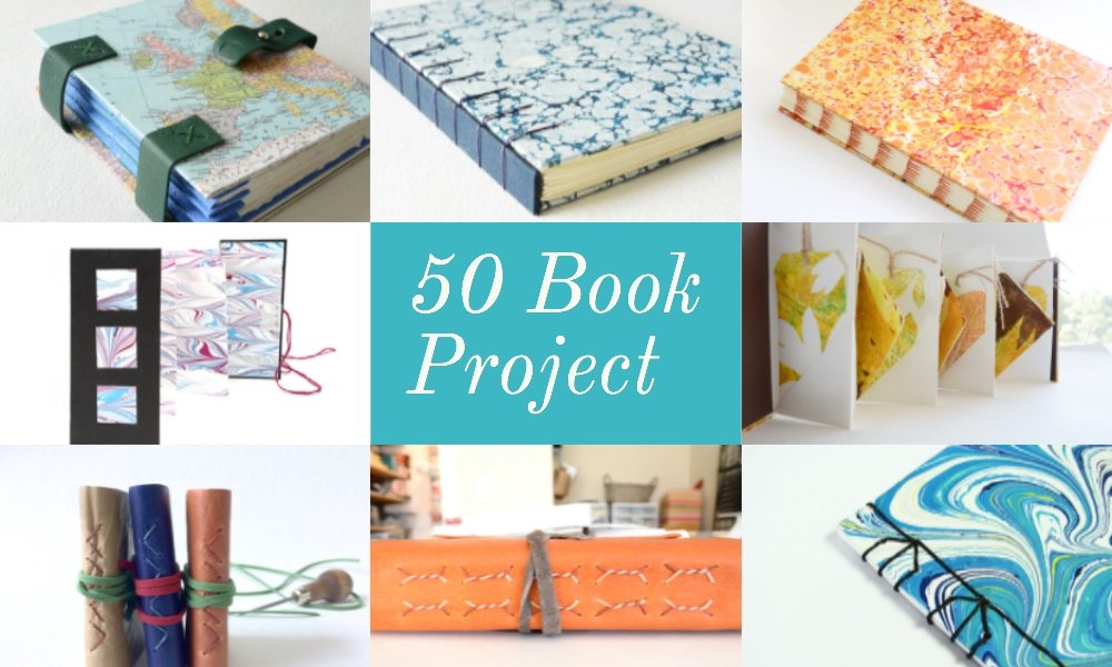 50 Book Project Challenge | Vintage Page Designs
