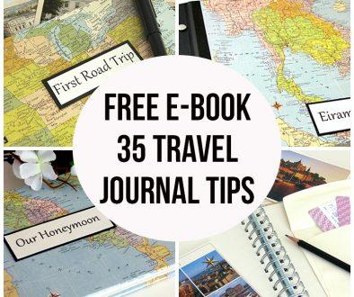 35 Travel Journal Tips