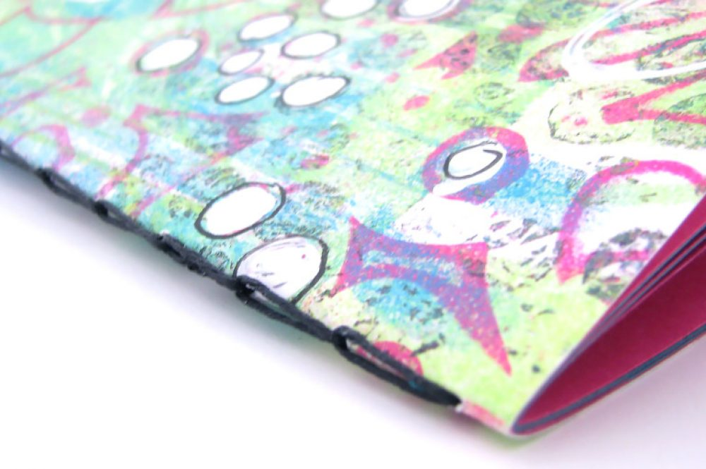 Chain Stitch notebook