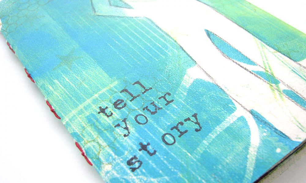Bow Tie Stitched Book