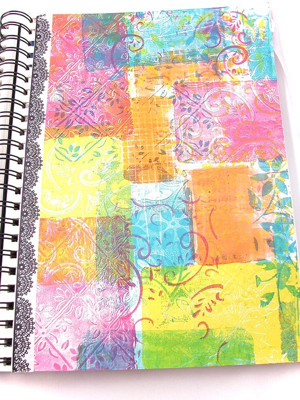 stamping with gelli plates