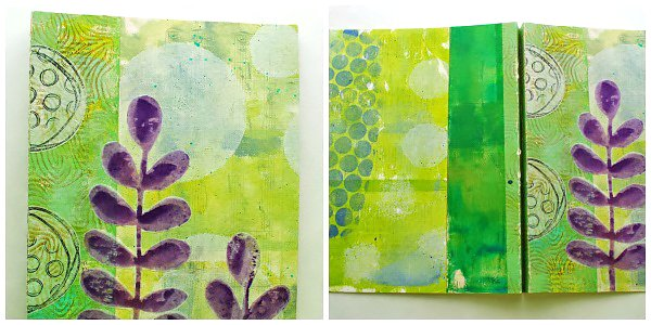 Mary B Gelli Book Collage