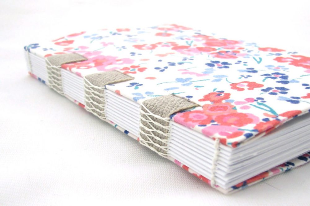 Upcycled Fabric Journal