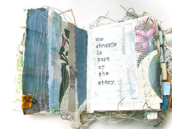 Ali Manning Altered Book