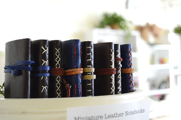 Miniature Leather Books