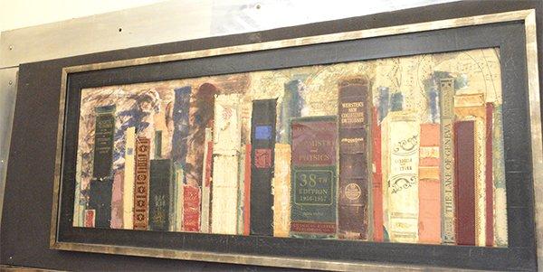 Book Collage by Gail Hansen