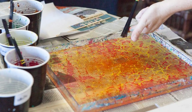Paper Marbling Class