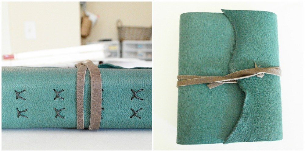 Exposed Stitched Book Soft Ks