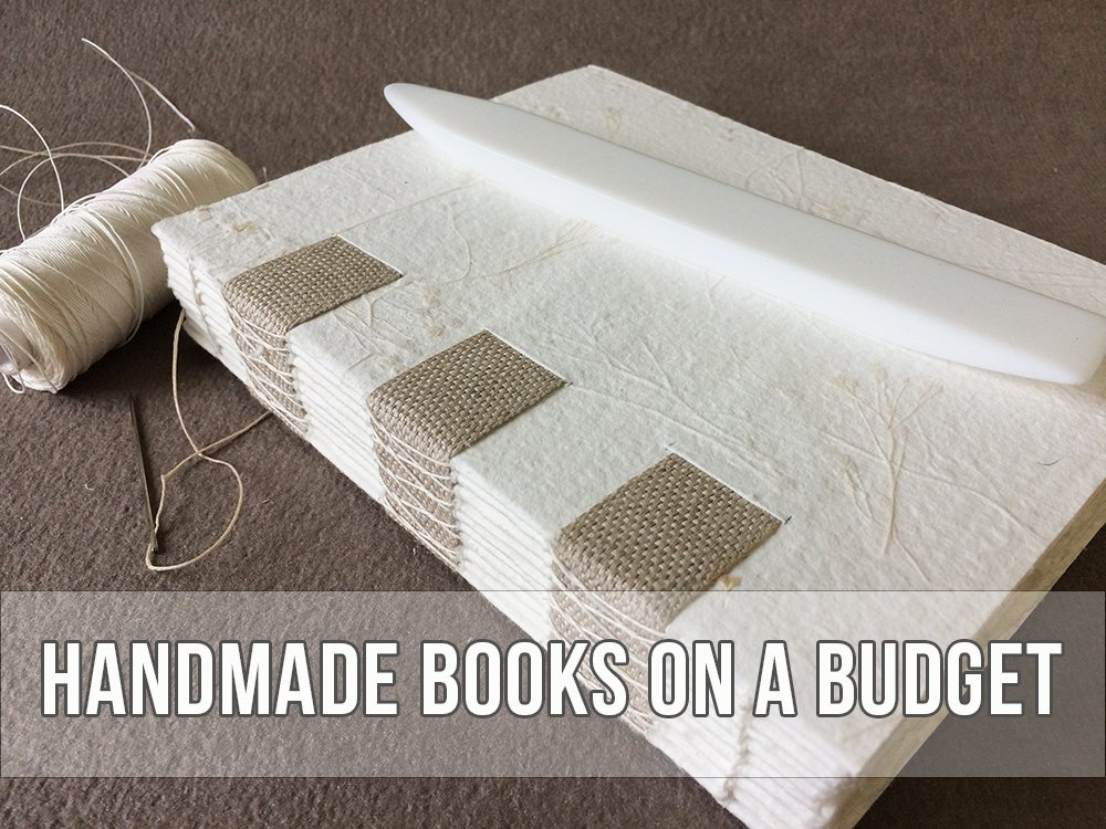 Handmade Books on a Budget | Vintage Page Designs