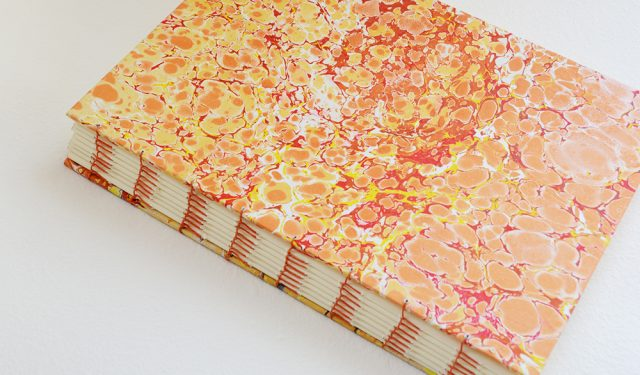 Blanket Stitch Handmade Book