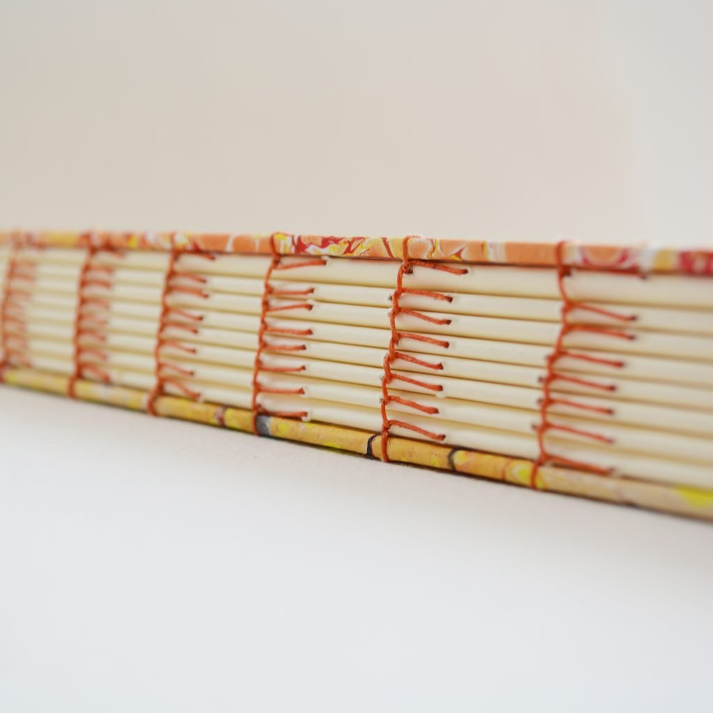 Blanket Stitch Handmade Book Binding