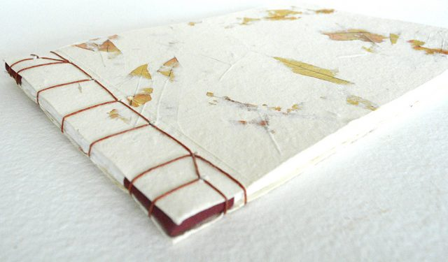 Fall Japanese Stab Binding Book