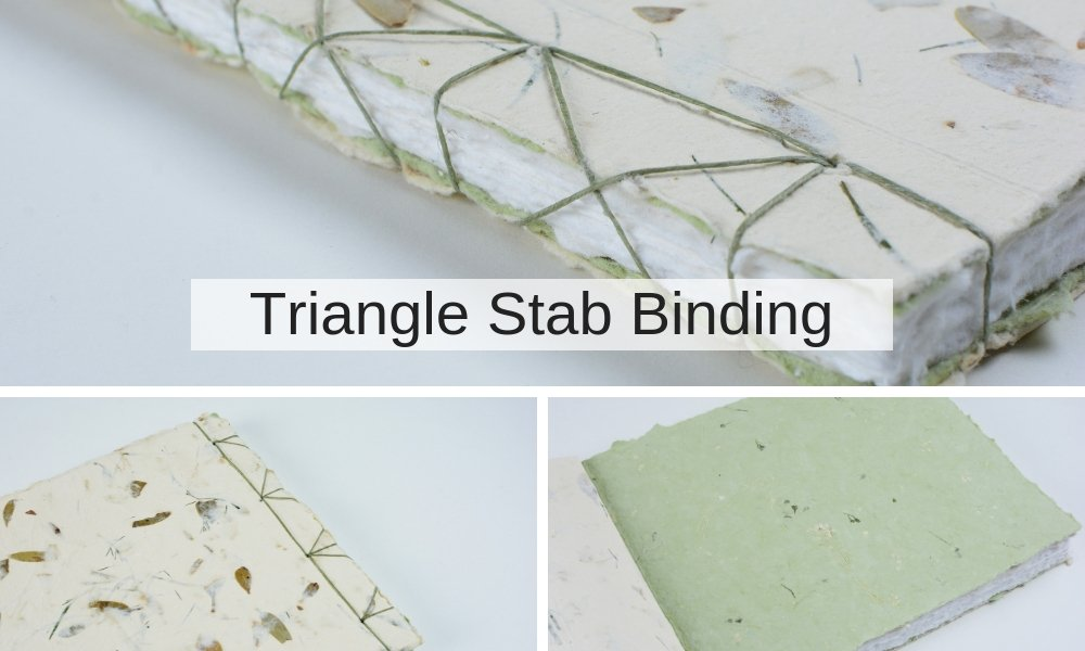 Triangle Stab Binding Book | Vintage Page Designs