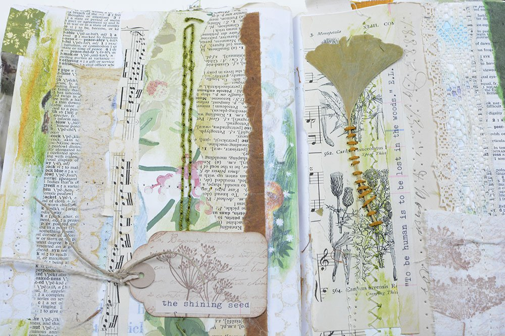 Altered Book | Vintage Page Designs