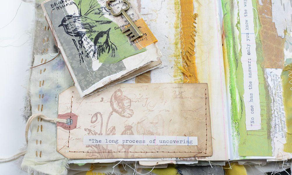 Altered Book | Vintage Page Designs Manning