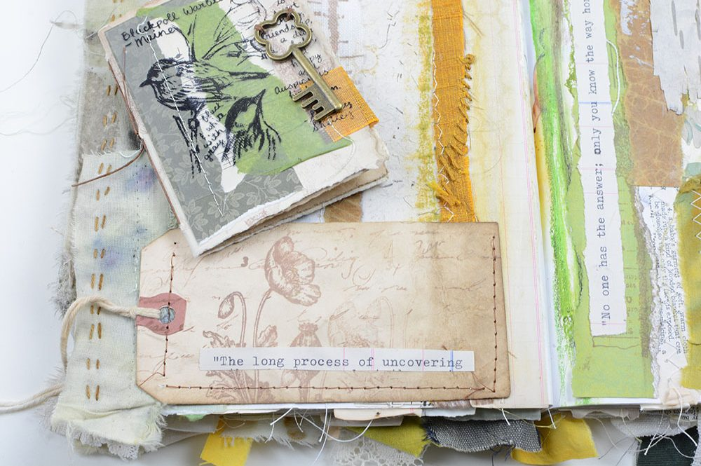 Altered Book | Vintage Page Designs Manning